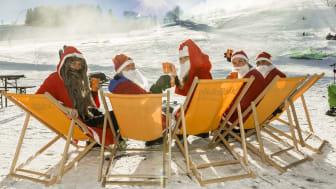außergwöhnliche Wintererlebnisse gibt`s nicht nur für Weihnachtsmänner im Skigebiet Holzhau
