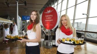 Norwegianilla viisi miljoonaan matkustajaa Suomessa