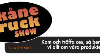 Arom-dekor Kemi finns på plats på Skåne Truck Show