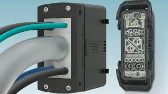 HC-CES är lösningen på flera kablar till samma industridon