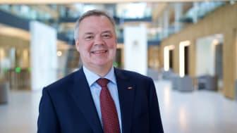 Konsernsjef i Storebrand og medlem i Nordic CEOs for a Sustainable Future, er en av to som har ledet arbeidet med innsiktsrapporten om klimarapportering, som offentligjøres i dag.