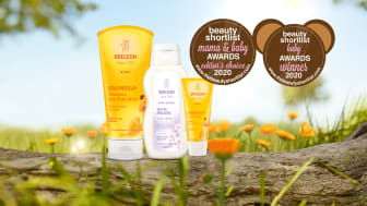 Weleda vinnare i den internationella tävlingen, 2020 Beauty Shortlist Mama & Baby Awards