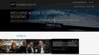 Eyevinn Technology selects White-label Streaming Solution from Red Bee Media for Streaming Tech TV+