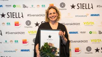 Stella Bagare Ia Ahlsgård  från PM Bröd och Sovel. Foto: Madeleine Landley.