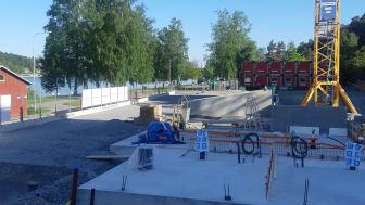 Mälarparken byggnation påbörjad