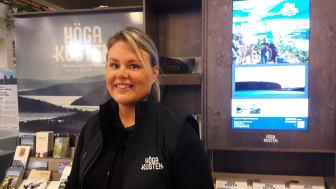 Maria Lundkvist, verksamhetsledare på Höga Kusten Turistservice, ser fram emot att prata om turistservicens utveckling på Visitas Destinationsdagar.