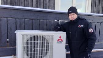 Mitsubishi Electric varmepumpe blir testvinner på lydnivå i VG
