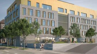 Foto: CADWALK, EC Hansen Hus, tegnet af Danielsen Architecture, som i 2021 bliver domicil for Visma