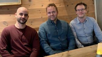 Teamet i  Omen Technologies, nytt bolag i Chalmers Ventures Accelerator