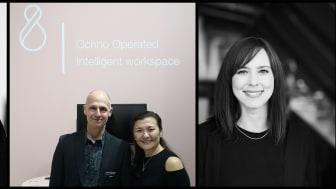 Marco Checchi, Studio Stockholm  Bengt Gunnarsson, VD Edsbyn  Rayhan Ermis, Styrelseordf Ochno AB och Stina Moraeus, Industri Designer, TEA