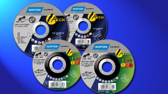 Nye kappeskiver og navrondeller for batteridrevne vinkelslipere