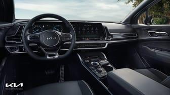 Kia Sportage interior-1