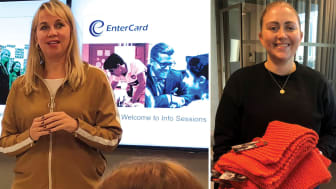 Melita Ringvold and Marita Nordli are two of the facilitators of Entercard`s CSR and sustainability work