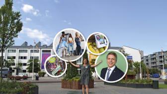 Projektledare Karolina Nilsen välkomnar alla till Fair Trade Forum 3-4 augusti med hållbarhetsmarknad, modeshow med bl a I am fashion och seminarium om EU:s, regionens och kommunens handel.