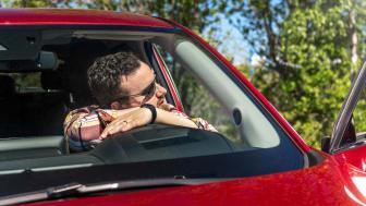 Trötthet bakom ratten är bidragande orsak i 10–40 procent av alla trafikolyckor