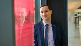 Kamil Zabielski, Storebrand Asset Managements nya chef för hållbara investeringar