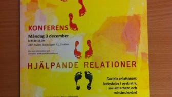 Konferens om hjälpande relationer