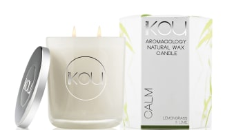 iKOU Wax Candle stort Calm