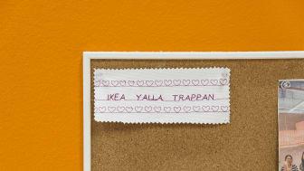 Ghada Hijjaj arbetar på syservice på IKEA Malmö och har varit med sedan Yalla Trappan startade 2009. Foto: Urzula Striner