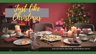 """Just like Christmas: The Hutschenreuther Collector's edition """"Christmas Gifts"""""""