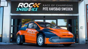 Redan nu testkörs ny elektriska FIA RX2e Championship Car på Pite Havsbad
