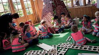 Hanna Falks Trädgårdskoja är ett bra exempel på vårt lyckade samarbete och betydelsen av barnens bidrag i processen