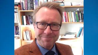 Martin Gellerstedt, nybliven professor i arbetsintegrerat lärande.