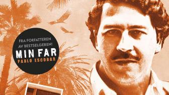 """Escobar besøker en rekke norske byer når han nå lanserer sin nye bok """"Pablo Escobar Det faren min aldri fortalte."""""""
