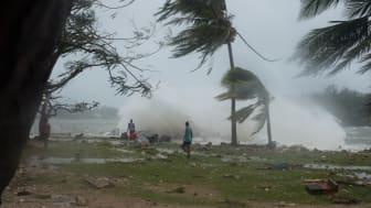 Vanuatu: Minst 132 000 drabbade av cyklonen Pam