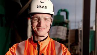 Alexander Nikonoff är en av tre som går Ragn-Sells Young Professionals-program, ett program med fokus på unga och nyutexaminerade produktionsingenjörer.