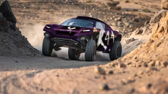 Hamilton's Team X44 will compete in the Extreme E with this car © Team X44 / Extreme E