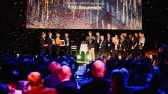 Forskningslaboratoriet Biomedicum i Solna utsågs till Årets Bygge 2019.