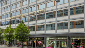 Mannheimer Swartlings stockholmskontor hos Skandia Fastigheter på Norrlandsgatan 21.