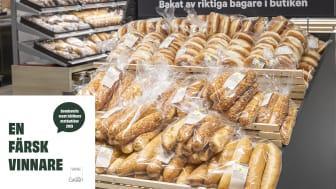 City Gross i Sundsvall har stans bästa bröd enligt White Guide Green!
