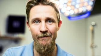 Carl Axenborg, processledare för SVF hudmelanom och kirurg vid kirurgmottagningen på Hallands sjukhus i Varberg