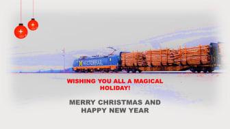 Hector Rail tillönskar en God Jul & Gott Nytt År