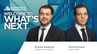 David Karlsson och Richard Sundqvist har rekryterats till affärsområde Occupier Services.
