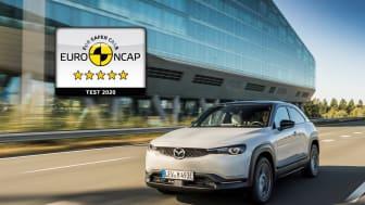 Fem stjärnor till Mazda MX-30