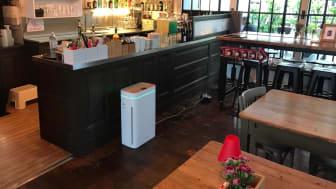 AiroDoctor® Luftreiniger in Bars und Restaurants