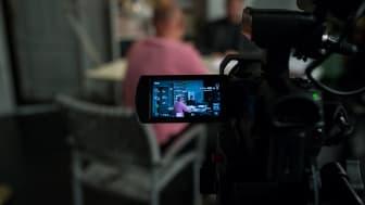 Inspelning av Månteaterns filmatiserade kortpjäsprojekt 7MIN.