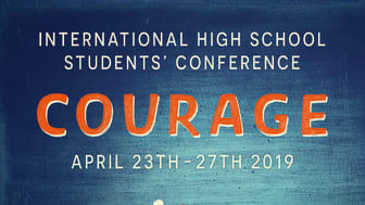 Students Conference Courage Poster k