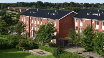 Det krævede en stram proces og et tæt samarbejde, da CM Byg og Lindab producerede, leve-rede og monterede 5.500 kvadratmeter ståltag i Spangsbjerg Parken i Esbjerg på under fire måneder.