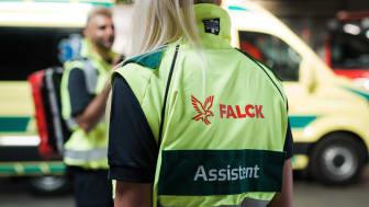 Falck vinder udbud om ambulancer til Region Midt