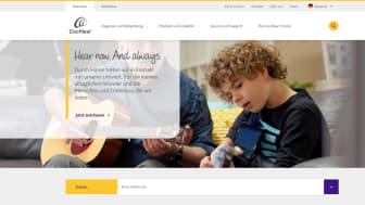 Bietet hilfreiche Online-Informationen auf dem Weg zum guten Hören – der neue Internet-Auftritt www.cochlear.de