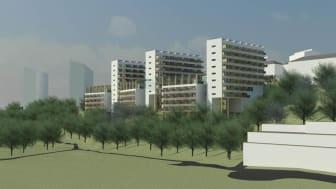 Samråd om projekt Positive Footprint Housing® i stadsdelen Södra Guldheden, Göteborg