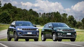 Mere teknologi, opkobling og effektivitet i ny Jeep Compass