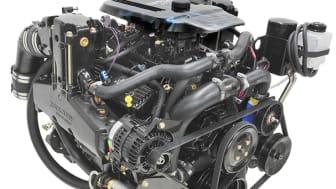 Ny V8 erstatningsmotor til Bravo drev fra Mercury Marine