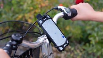 Perfekt för att navigera när du cyklar!