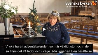 Öppna luckor 1-24 december i Stefanskyrkan