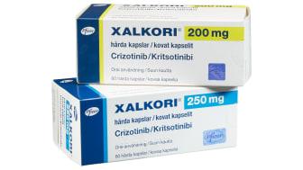 Xalkori 200 mg och 250 mg